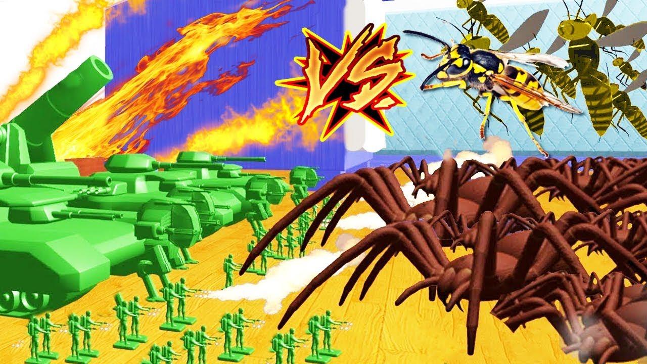 Juguetes De Wars InsectosHome Ejercito Vs xQhdstrC