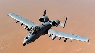 Fairchild Republic A-10 Thunderbolt II & General Electric GAU 8/A Avenger