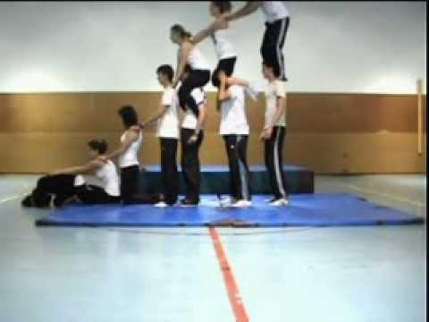 Acrosport 1º Bachiller B Ies San Miguel De Meruelo Youtube