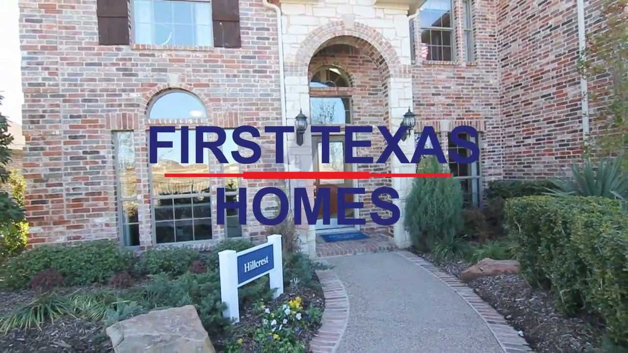 First Texas Homes HIllcrest Model - YouTube