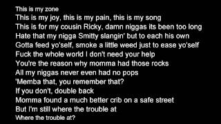J Cole- Visionz of Home (lyrics on screen)