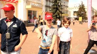 NiNo 3Run Family на открытии нового ресторана KFC в Нижнем Новгороде
