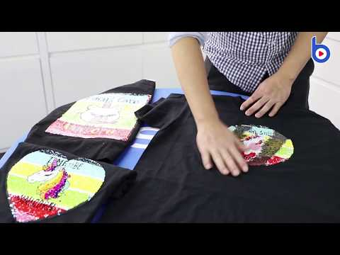 How To Print On Sequin Patch