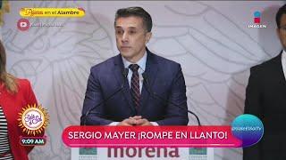 Sergio Mayer criticado al llor…