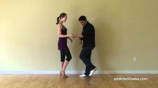 Basic Salsa Step On2 Timing for Beginners (Short Version)
