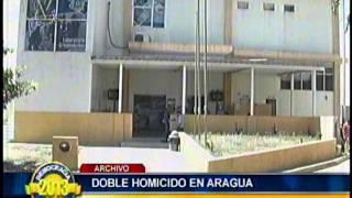 Doble homicidio reportaron en el municipio MBI  de Aragua tras  cierre de mesas electorales