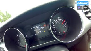 2016 Ford Mustang EcoBoost (317hp) - 0-200 km/h acceleration (60FPS)