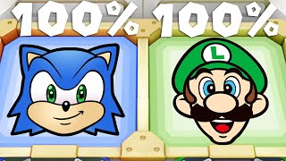 Super Mario Party MiniGames - Mario Vs Peach Vs Luigi Vs Yoshi (Master Cpu)
