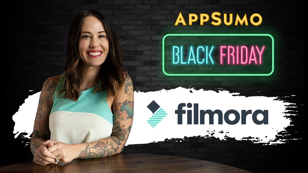 Video Editing Simplified with Filmora by AppSumo | Black Cat Deals