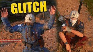 HILARIOUS Sliding BUTT GLITCH & Jumping Jack GLITCH in COD WW2