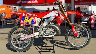 Inside Ken Roczen's Factory Honda CR250 2 Stroke - Motocross Action Magazine