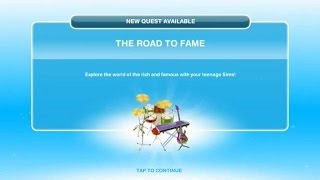 [The Sims Freeplay] - The Road To Fame Görevi