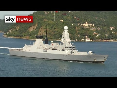 Warships arrive in the Gulf as UK-Iran tensions rise