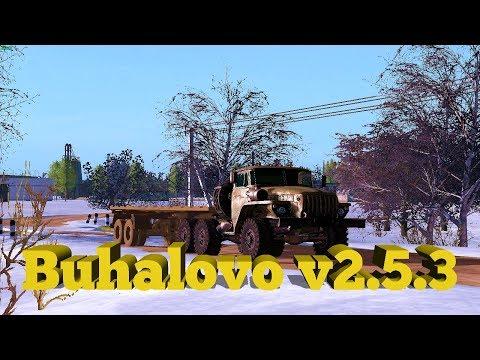 18+●Карта Buhalovo V2.5.3●Farming Simulator 17●Зима.