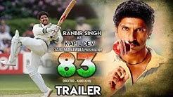 83 Movie Trailer | Ranveer Singh | Deepika Padukone | Kapil Dev | Kabir Khan