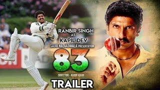 83 Movie Trailer | Ranveer Singh | Deepika Padukone | Kapil Dev | Kabir Khan