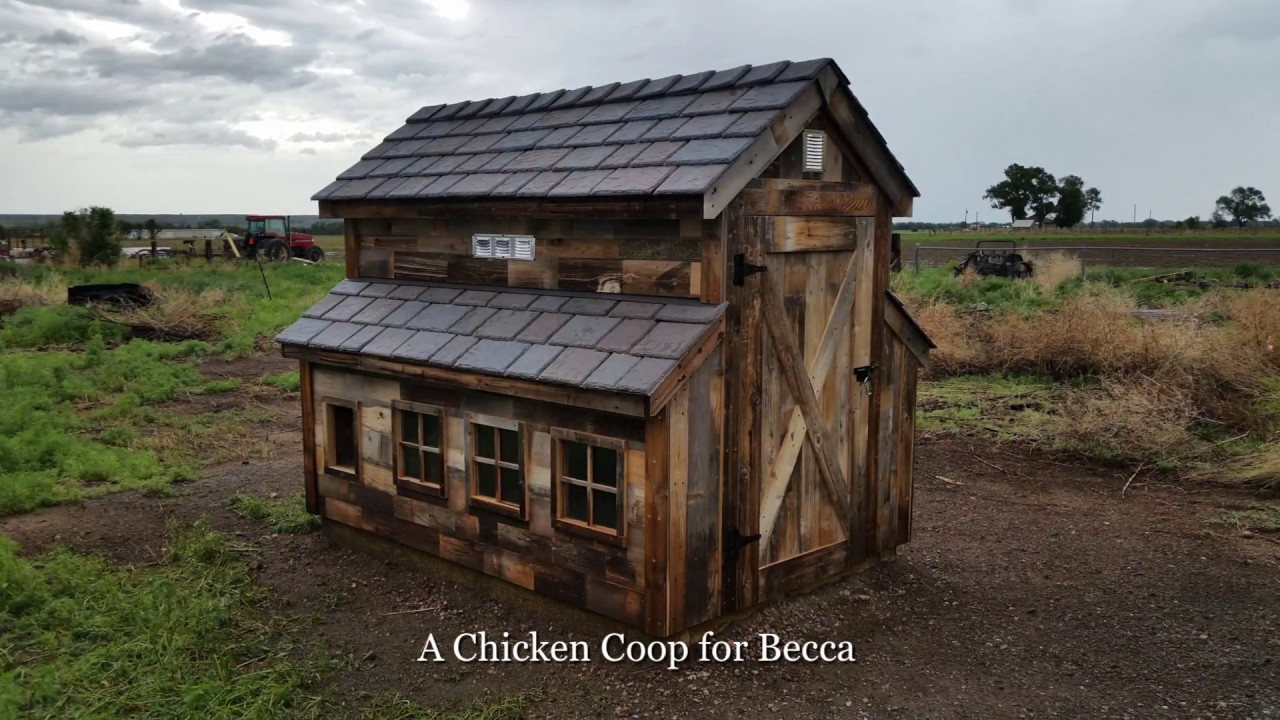 Rustic chicken coop images galleries for Building a chicken hutch