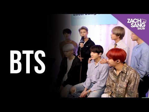 BTS I Backstage at the AMAs