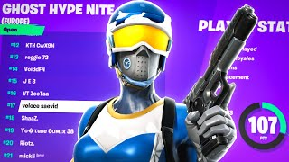 How I placed TΟP 20 In SOLO HYPE NITE (107 POINTS)