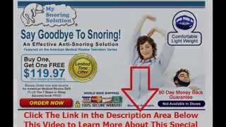 something to stop snoring | Say Goodbye To Snoring