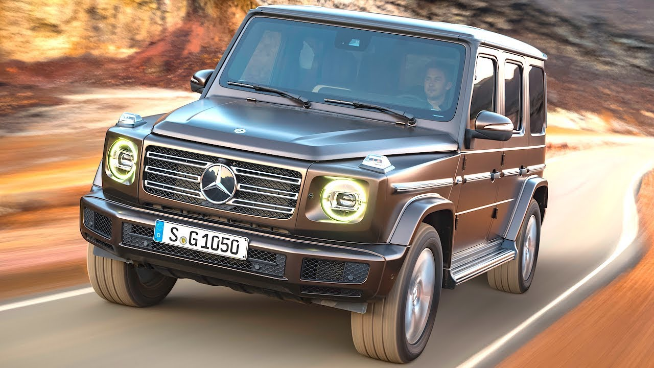 2018 mercedes g wagon commercial world premiere new for New mercedes benz g wagon