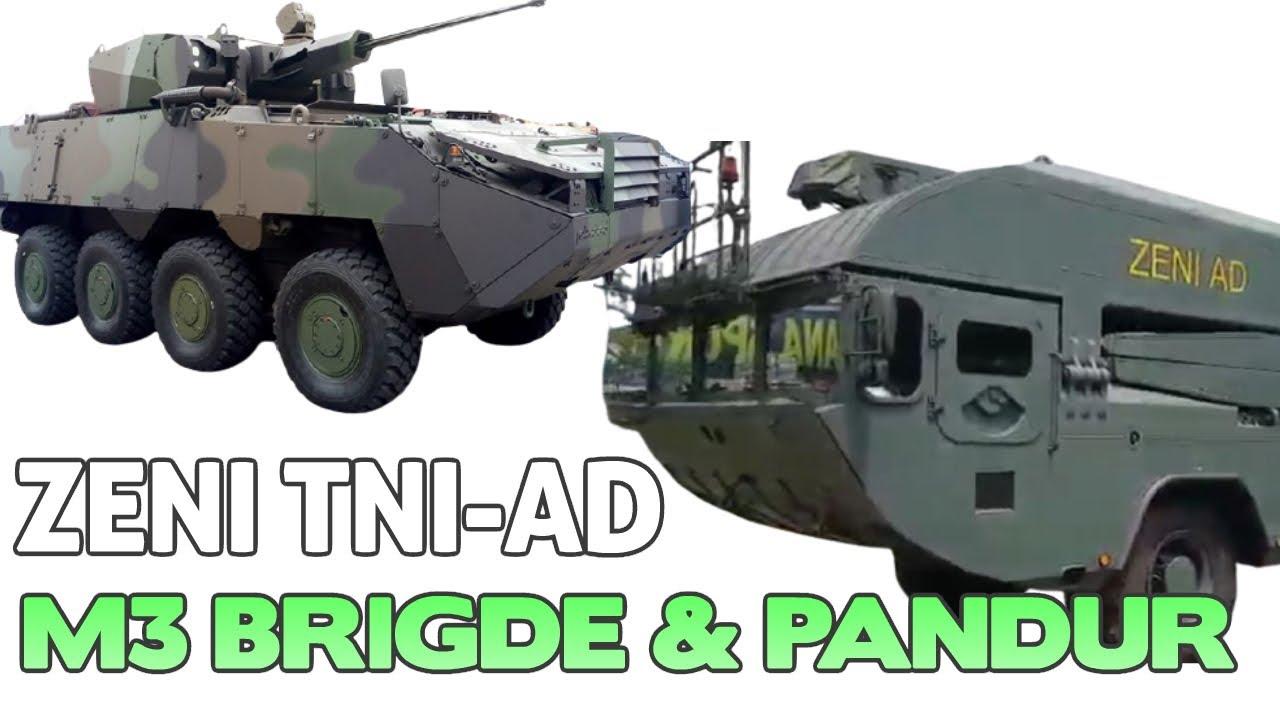 Penampakan Langka M3 bridge & PANDUR ZENI TNI-AD
