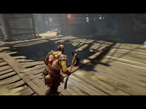 God Of War Landsuther Mines Get To Chest Beyond Gate