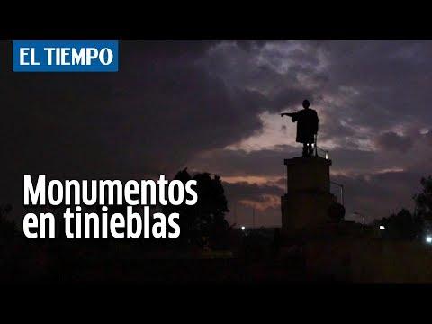 Los monumentos que duermen en tinieblas | EL TIEMPO