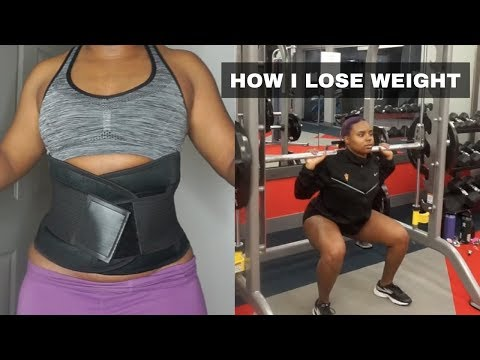 WHAT I DO TO LOSE WEIGHT AND GET SNATCHED | FT. CORSETWE.COM