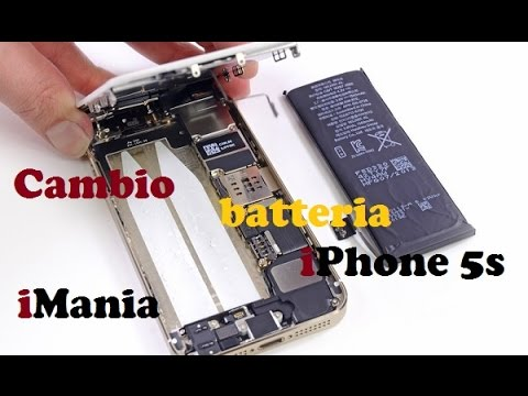 Cambio Batteria Iphone 5s Imania Youtube