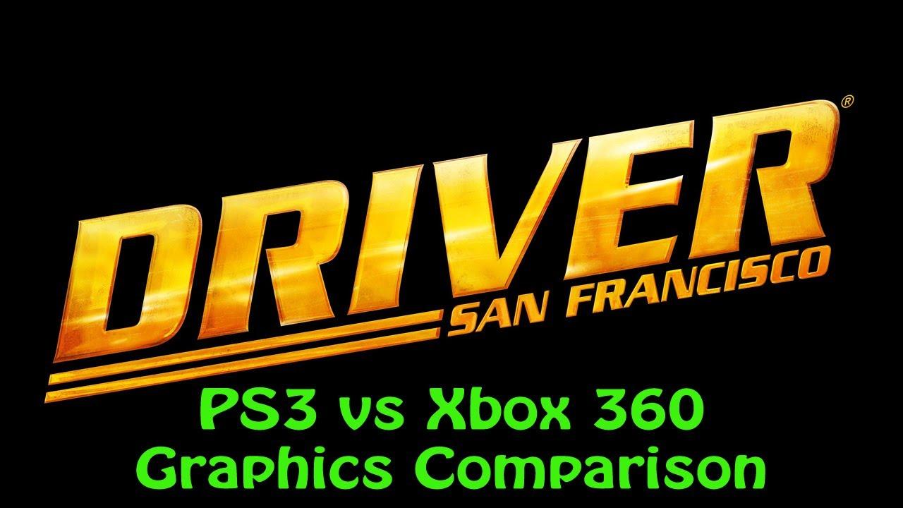 driver san francisco demo ps3 vs xbox 360 graphics. Black Bedroom Furniture Sets. Home Design Ideas