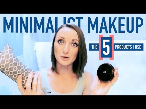 Minimalist Makeup Collection | Declutter Down To 5 Products