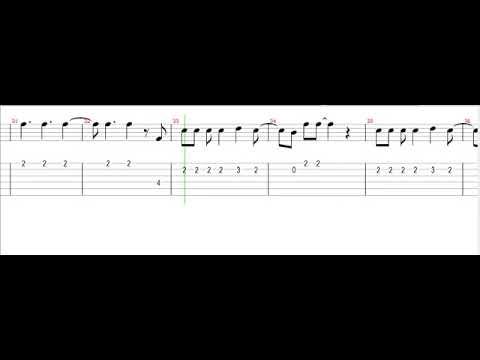Ricky Martín - Living La Vida Loca (Partitura Para Guitarra)