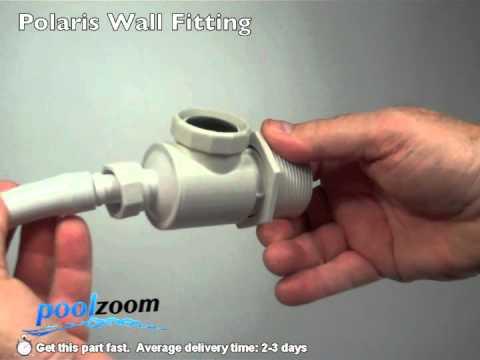 Polaris Wall Fitting 9 100 9001 Youtube