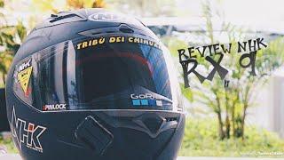 REVIEW HELM NHX RX9 + BELI HELM NHK GP1000 LAGI