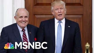 """Raines: 'It's Scary"""" To See 'Enfeebled' Giuliani Advising Trump 