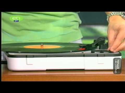61.01 ΜΕΤΑΤΡΟΠΗ ΔΙΣΚΟΙ ΒΙΝΥΛΙΟΥ ΣΕ MP3, ION TURNTABLE