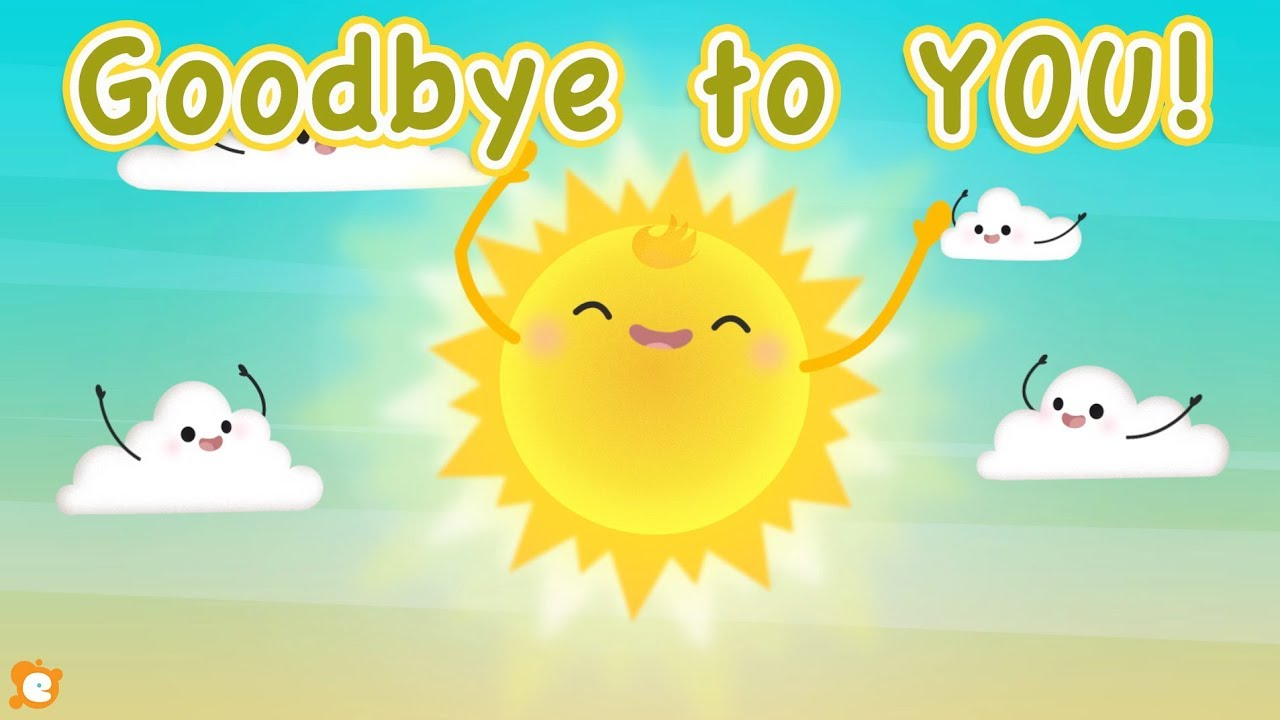 Goodbye To YOU! - Super FUN and FAST Goodbye Song by ELF Learning ...
