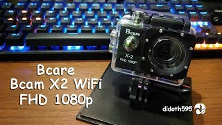 Bcare Bcam X2 FHD 1080P wiFi - Action Camera Black [INDONESIA REVIEW]