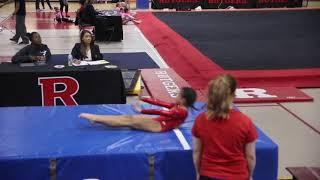 Gymnastics Level 3 Vault, Rutgers Classic 2018