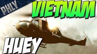 HUEY DOOR GUNNER SUPERIORITY (Battlefield Vietnam Gameplay DLC)