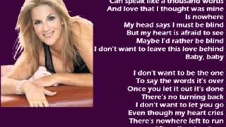 Watch Trisha Yearwood I Dont Want To Be The One video
