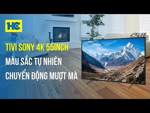 Ti vi Sony: Bộ xử lý 4K cho chất lượng hình ảnh trung thực KD-55X7500H • Siêu Thị Điện Máy HC