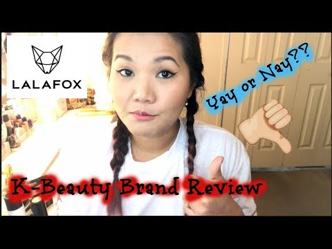 LALA Fox K-beauty Review & First Impressions/ New Brand at Walmart