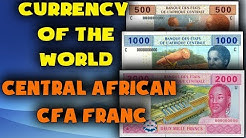 Currency of the world - Central African CFA franc (XAF). Exchange rates Central African CFA franc