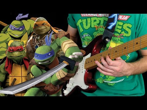 Teenage Mutant Ninja Turtles: 30 Year Guitar Thematic