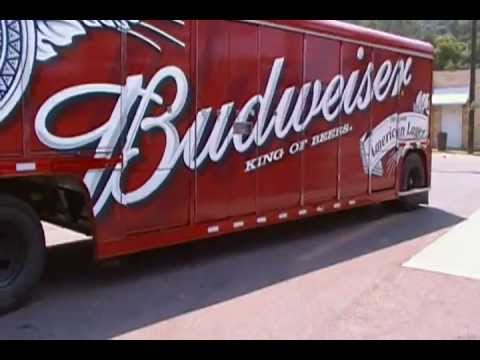 The New Budweiser Truck box