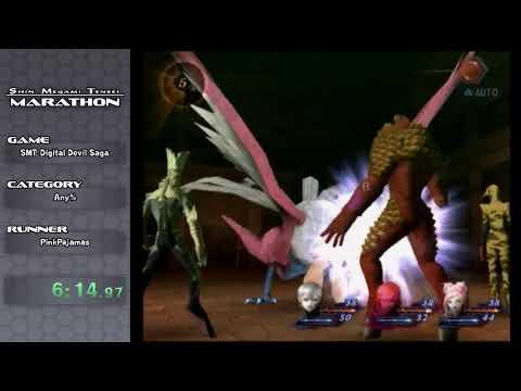 Shin Megami Tensei Marathon: Intro + SMT: Digital Devil Saga by Pink Pajamas