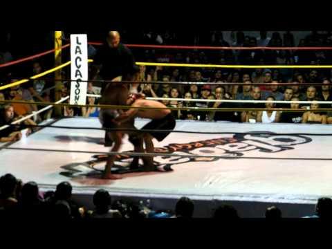 Ricky calatayud vs. Enrique Espinoza Round 1