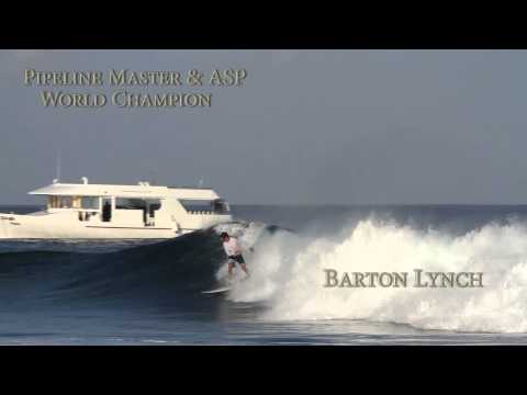 Barton Lynch talks about his trip with The Perfect Wave, surfing in Maldives